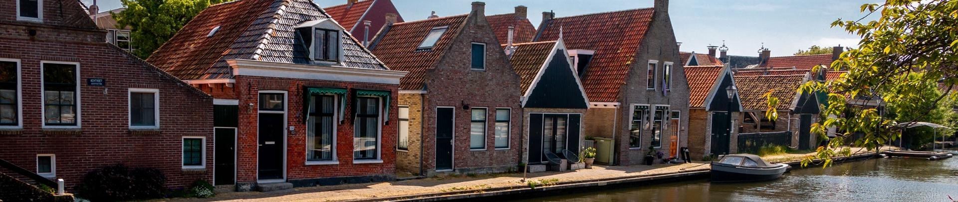 huisjes in een mooi dorp in Nederland